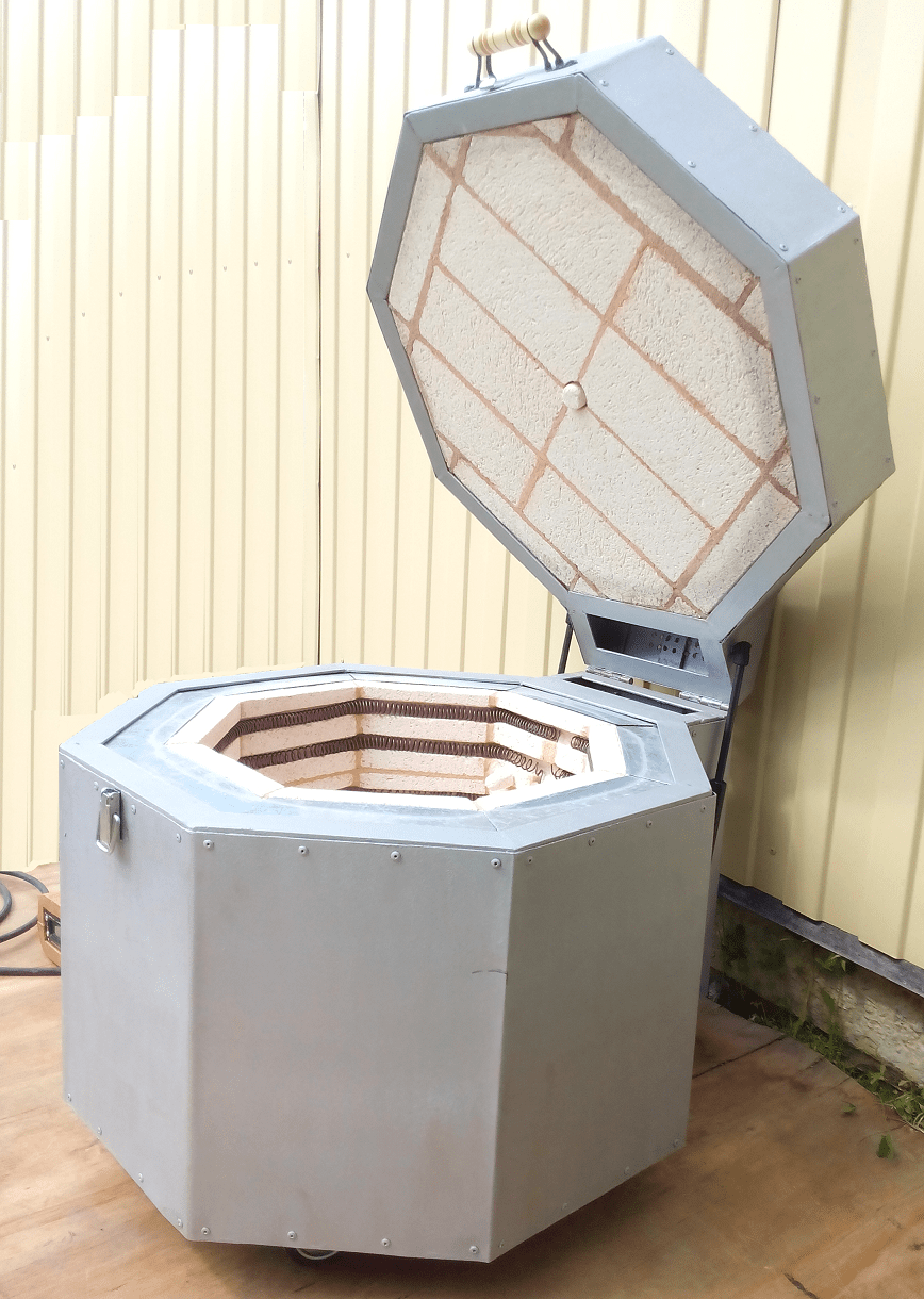 Муфельная печь Электрические печи для обжига керамики своими руками