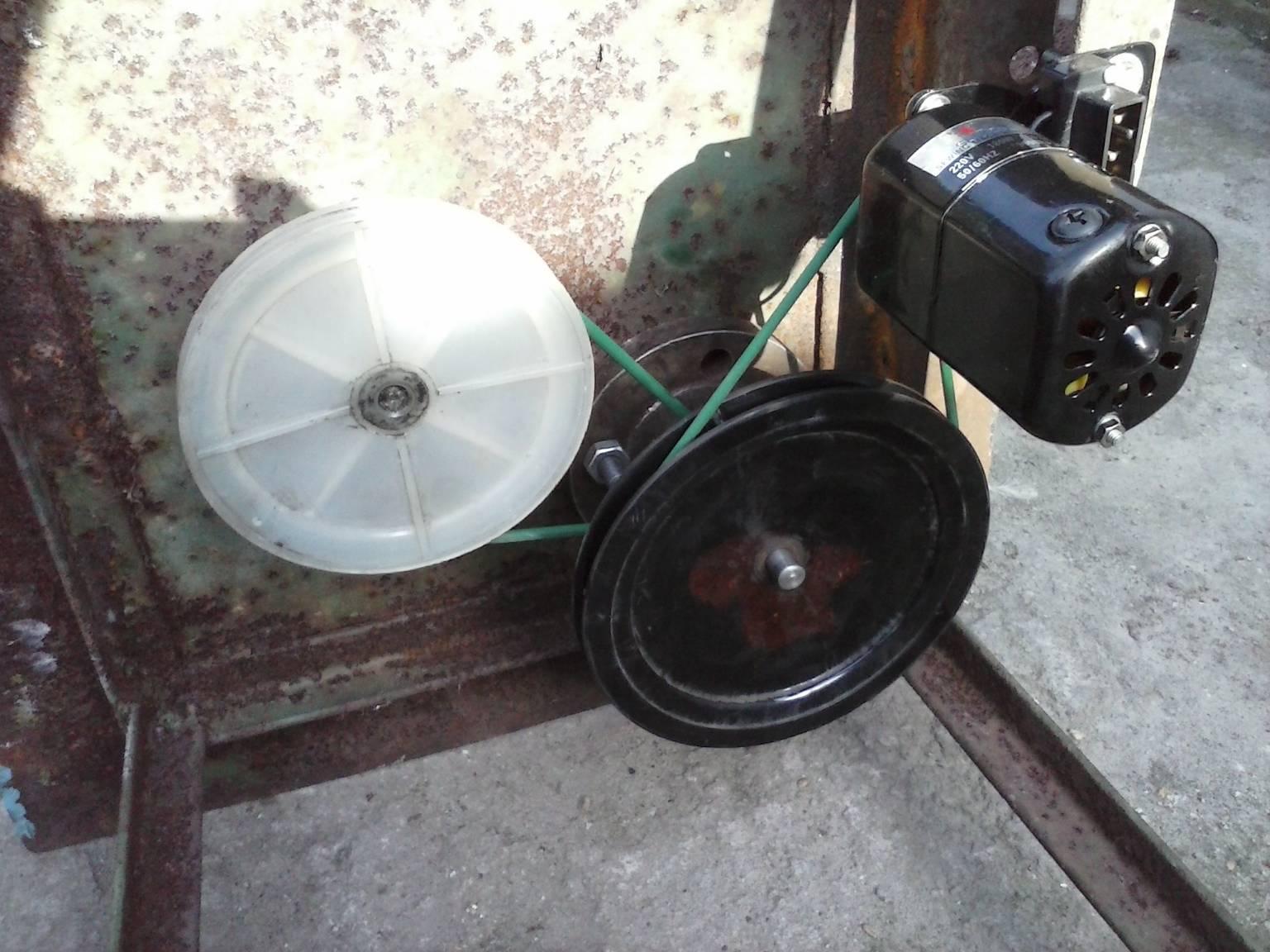 Двигатель к швейной машине своими руками фото 995