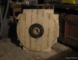 Деревянный гончарный круг