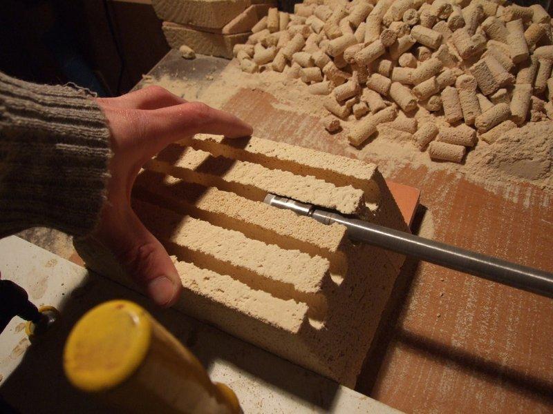 Глиняная плитка своими руками 41